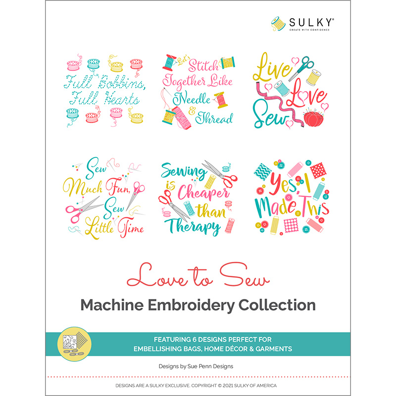 love to sew machine embroidery collection