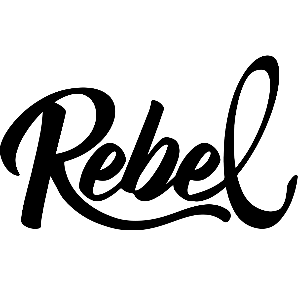Rebel Creamery logo
