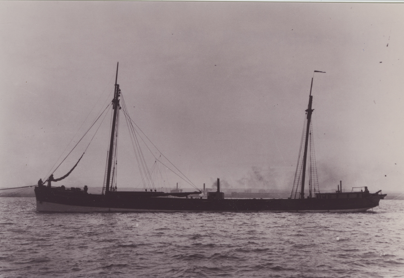 Transfer Schooner Barge