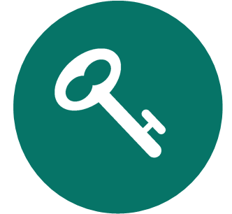 Circle Key Icon