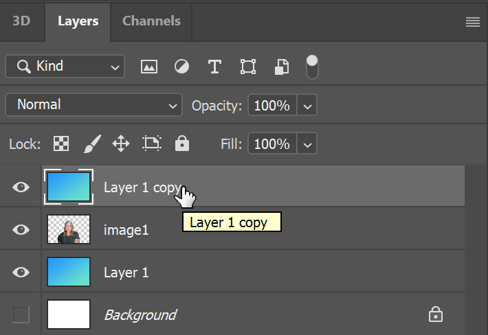 Adobe Photoshop Layer
