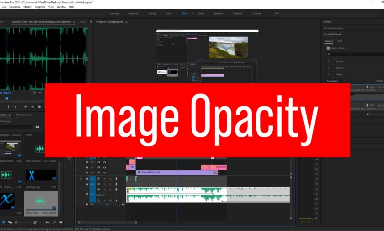 Image Opacity
