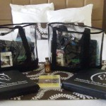 Goodie Bags in room upon arrival