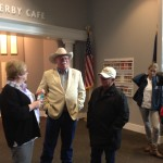 California Chrome group stopped at the Kentucky Derby Museum with us