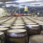 All those barrels of Bourbon