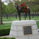 Memorial to 1978 Triple Crown winner Affirmed