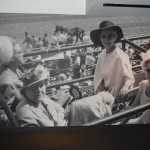 Wall at Kentucky Derby Museum with Kentucky Derby founder, Ruth Pyle (lower right)