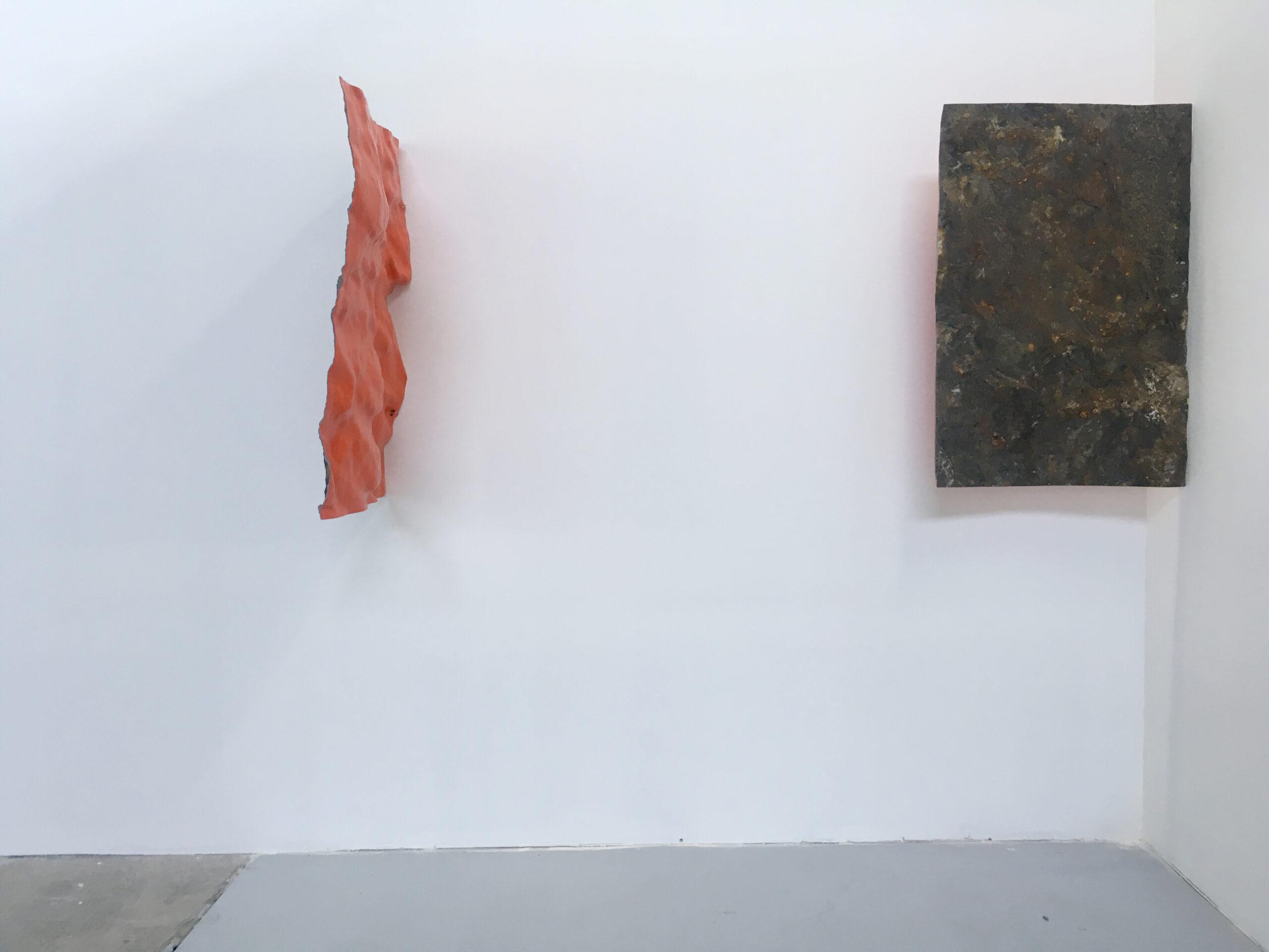 Liminal, 2018. Resina, fibra de vidrio, pintura poliuretano. 80 x 60 cm: 75 x 60 cm