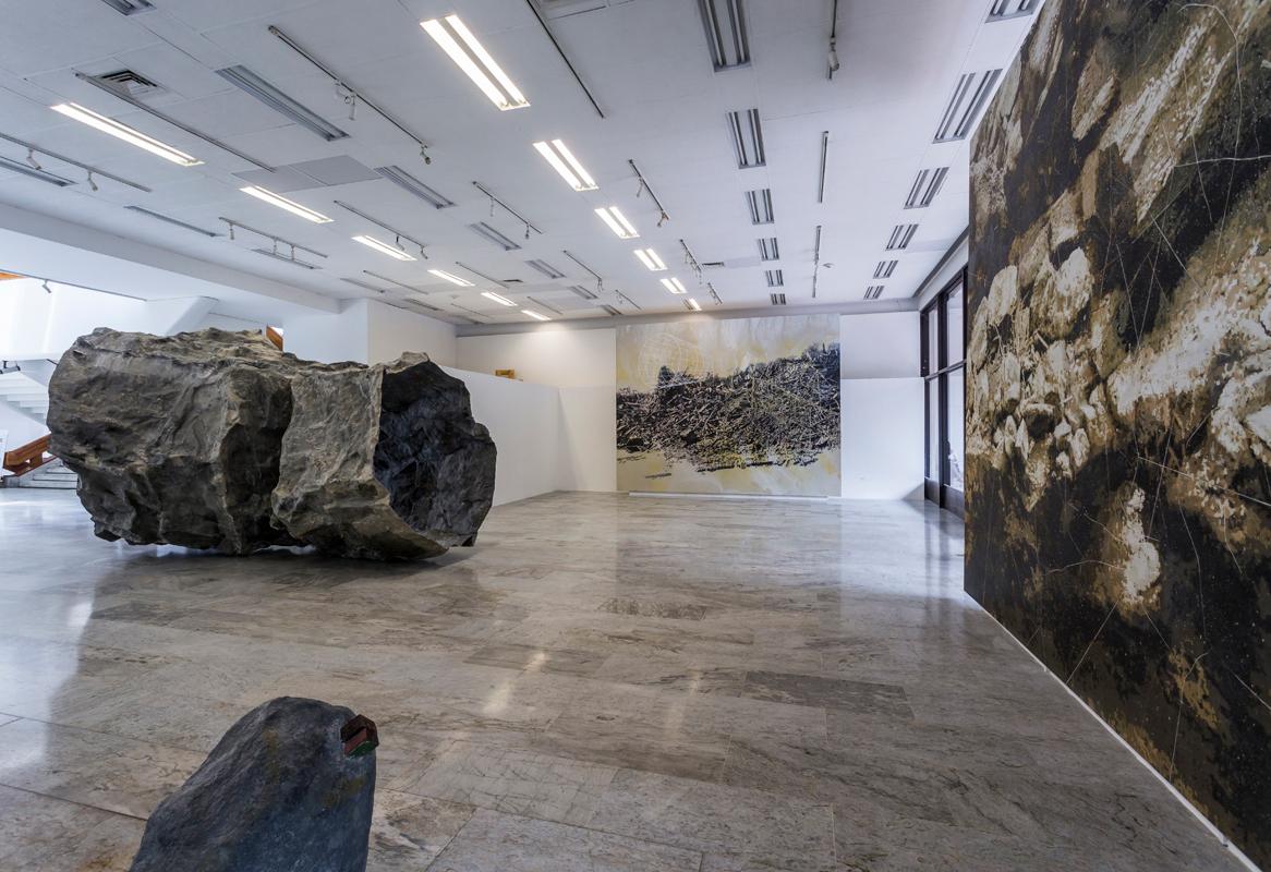 Panorámicas exposición Territorios Inciertos. Fotografía: Carlos Tobón