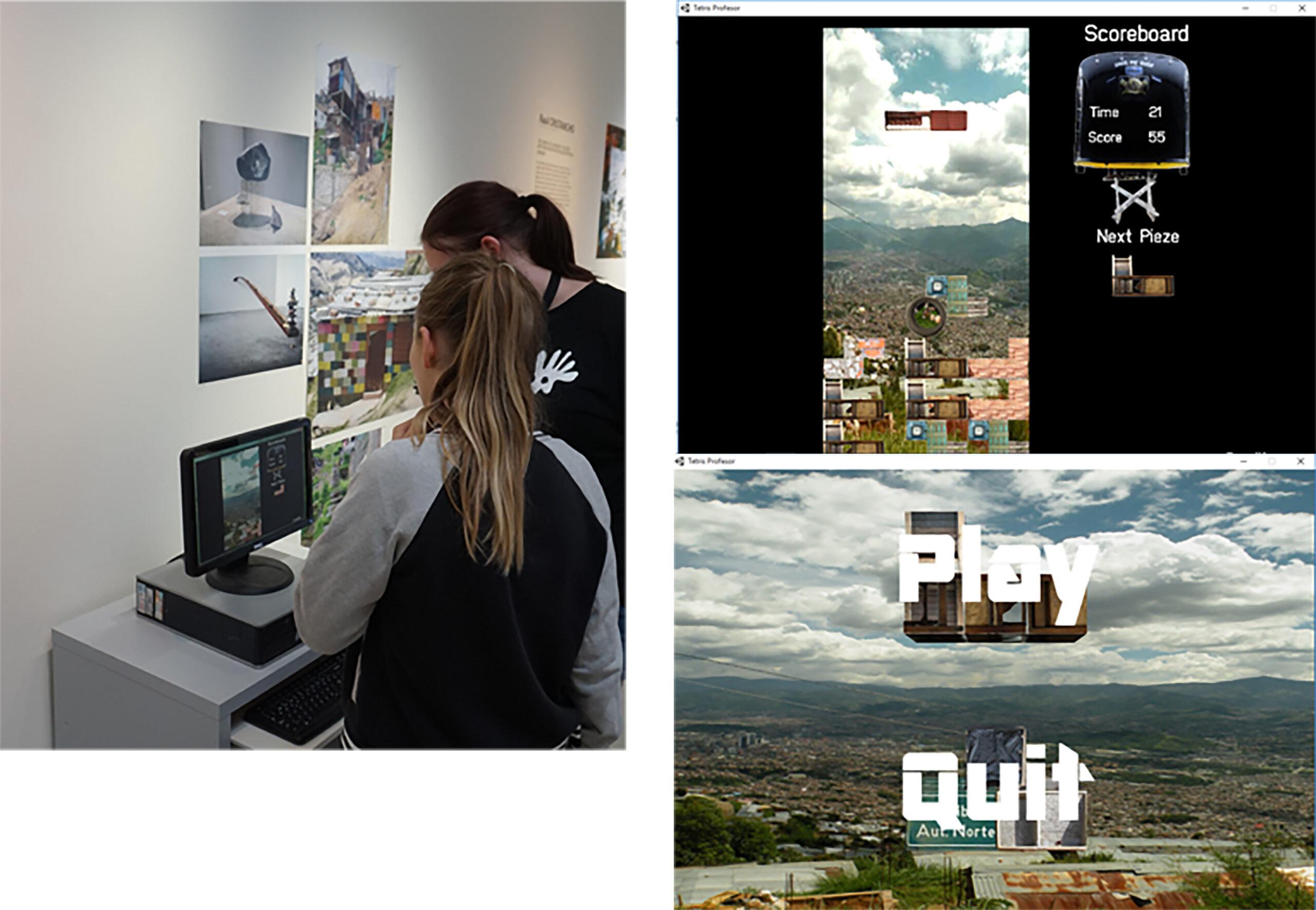 Tetris, 2012. Game art. Interactivo, Museo Läns, Örebro, SU.