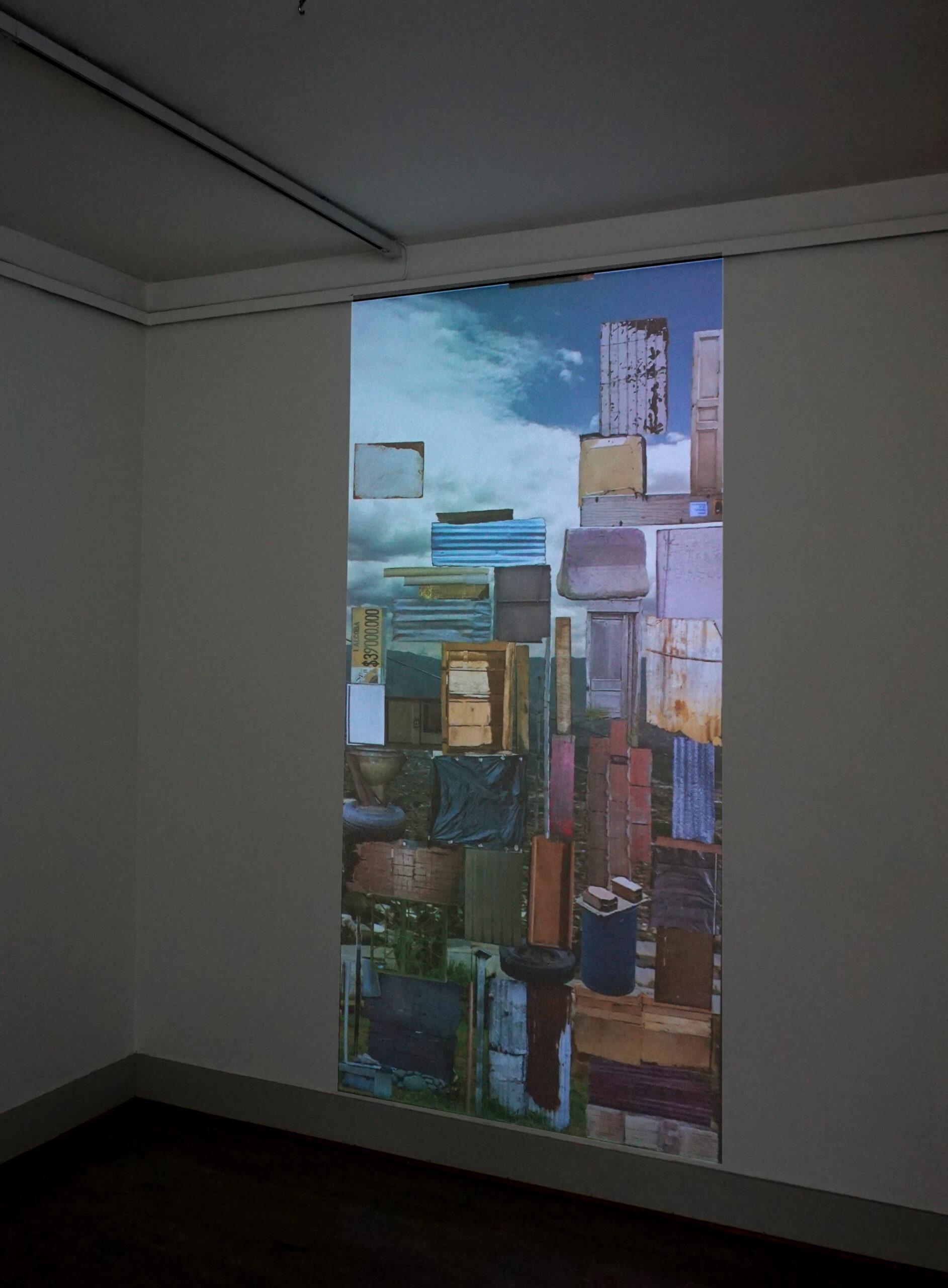 Arquitectura vernácula, 2010. Animación digital 5:10. Museo Läns, Örebro, SU
