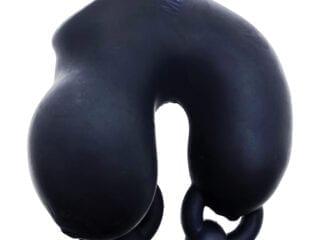Oxballs Meatlocker Chastity - Black