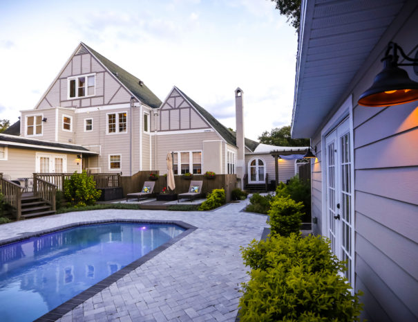 kenwood gables pool and deck