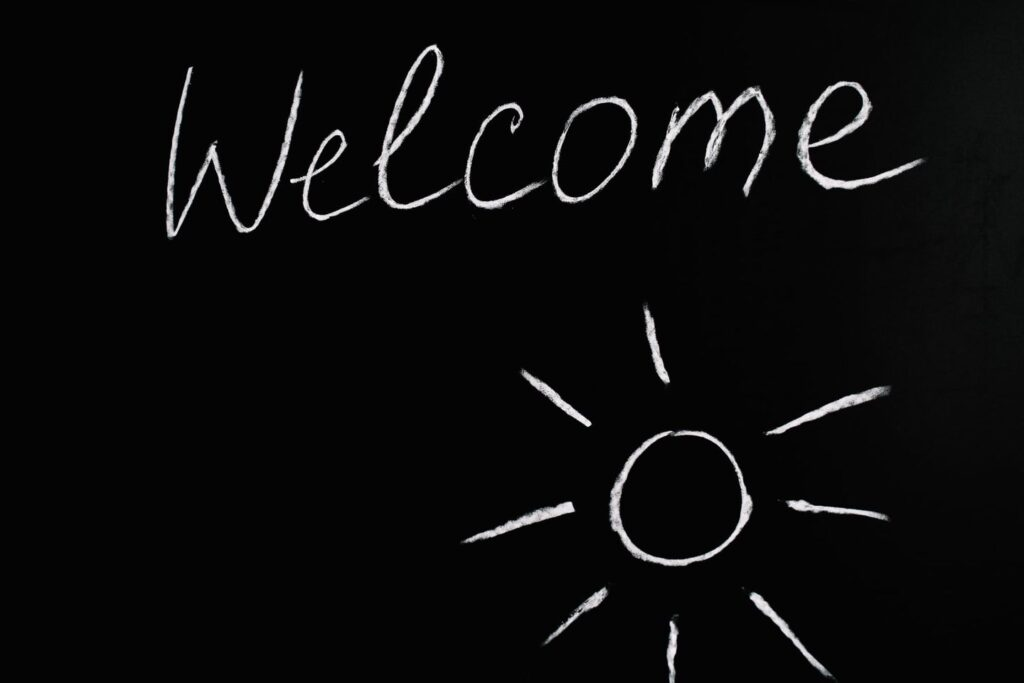 A Simple Way to Welcome New Members