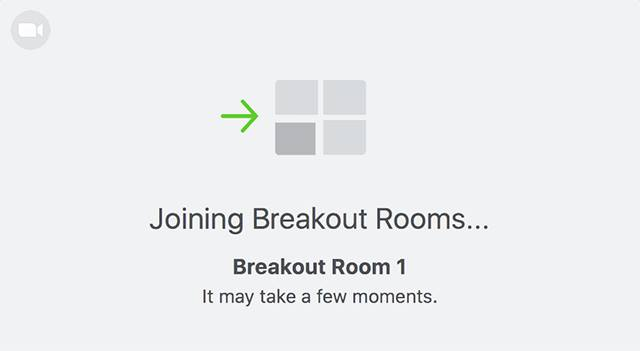 Leveraging Virtual Break Out Rooms