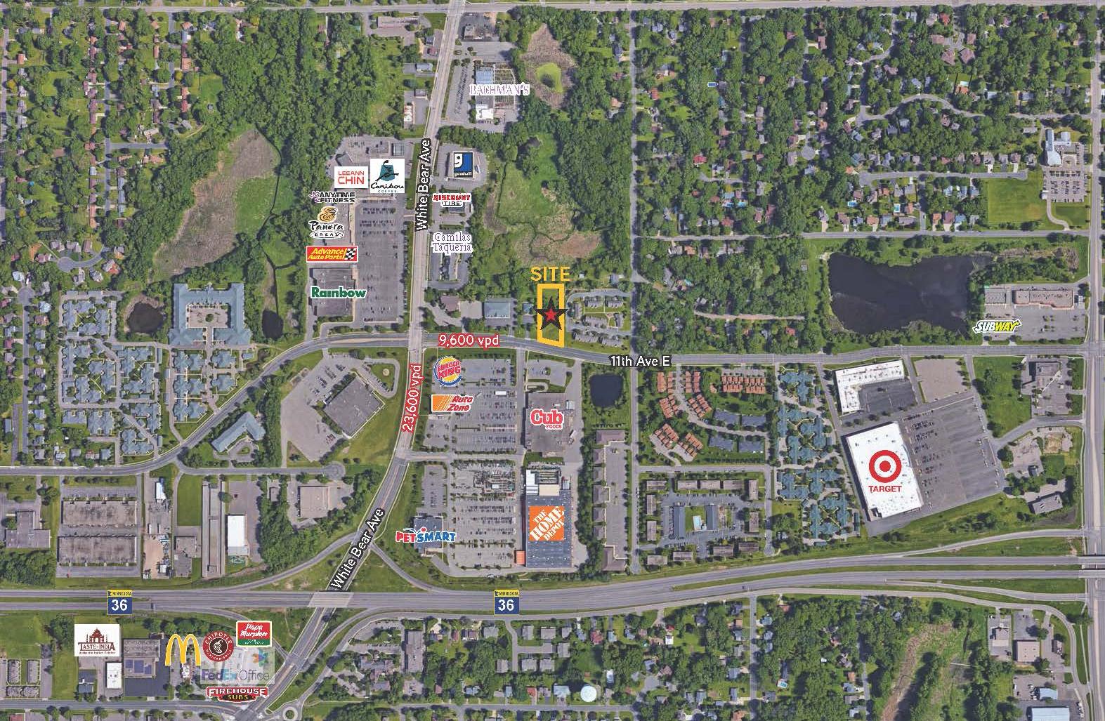 Burnsville, .80 Acres | Zoned B-3 Commercial