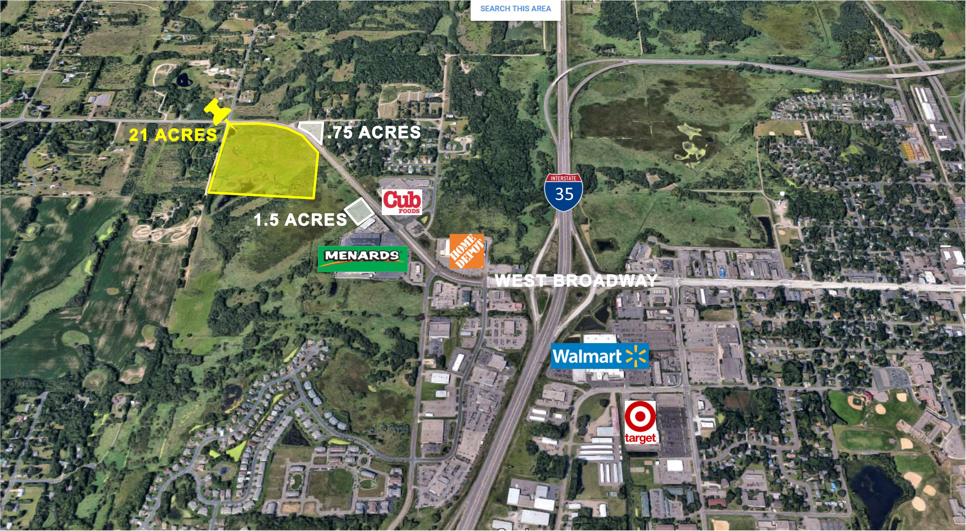 Forest Lake, 21 Acres | Zoned B3 Highway Business