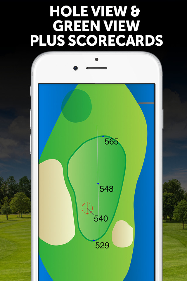 Hole View and Green View Plus Scorecards
