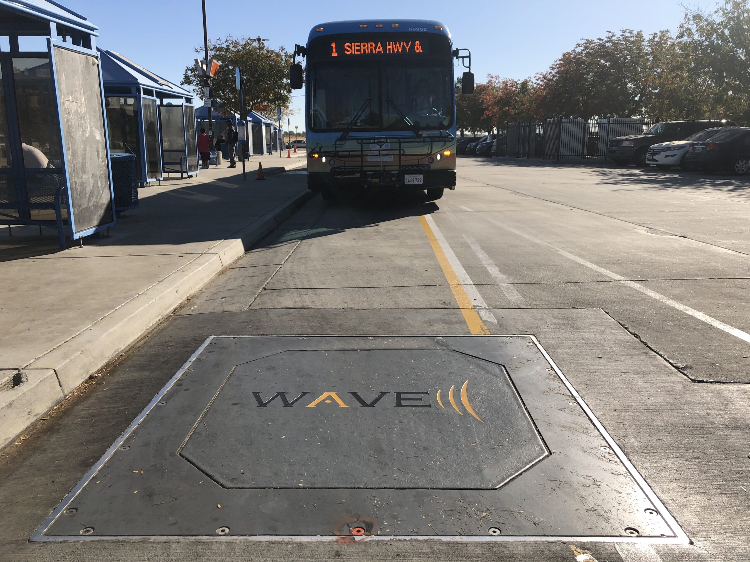 WAVE Bus Charging