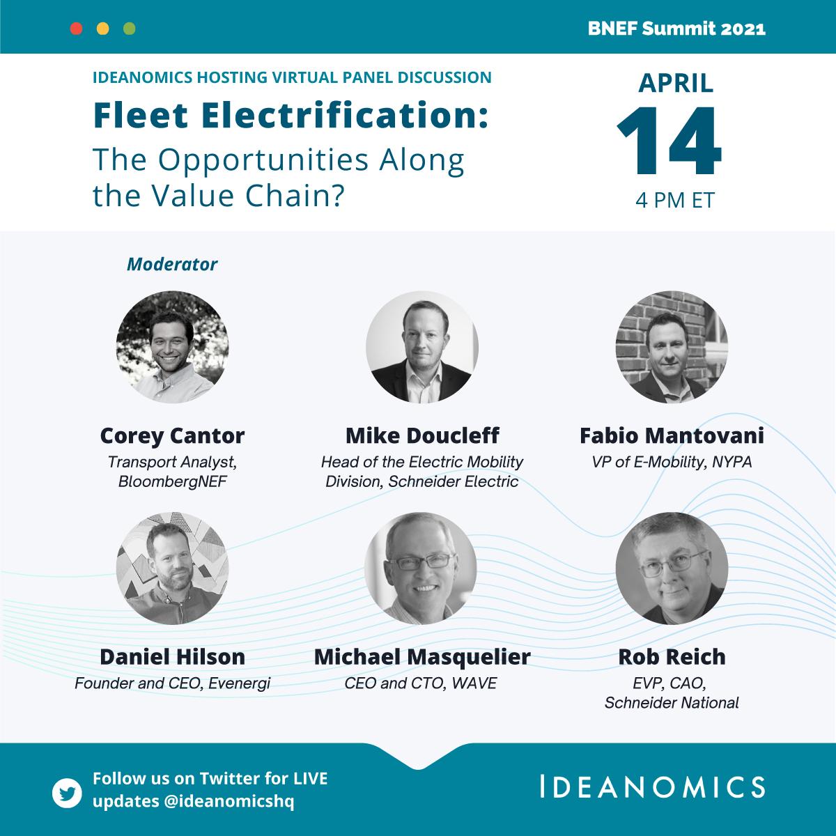 BNEF Summit Fleet Electrification