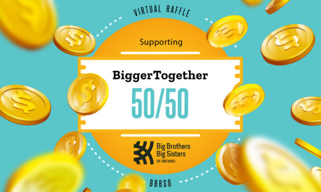 Announcing the #BIGGERTOGETHER 50/50 Raffle!