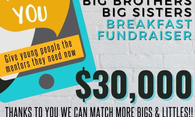 Breakfast Fundraiser makes a BIG impact!