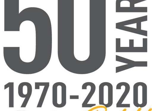 Celebrating 50 Years in 2020!
