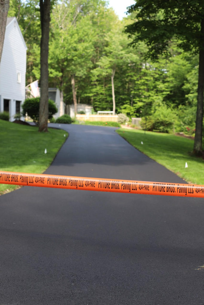 Driveway paved by Pittore Brothers Paving