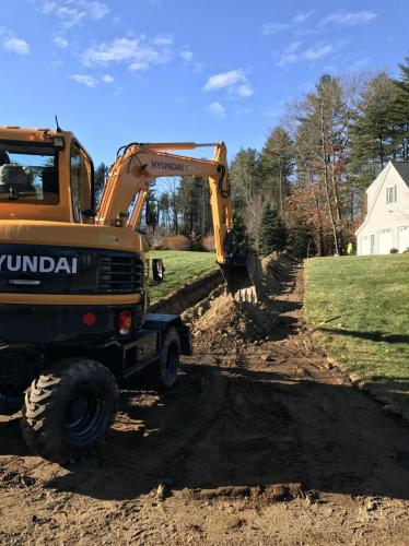 Excavation:Drainage