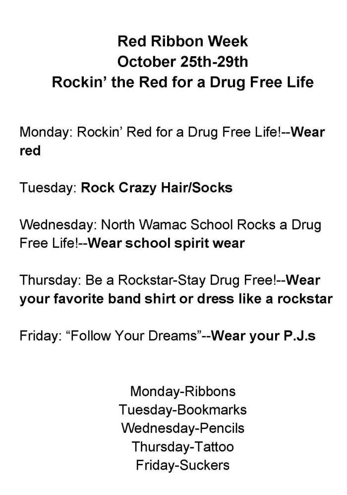 2021 Red Ribbon Week Activities 2