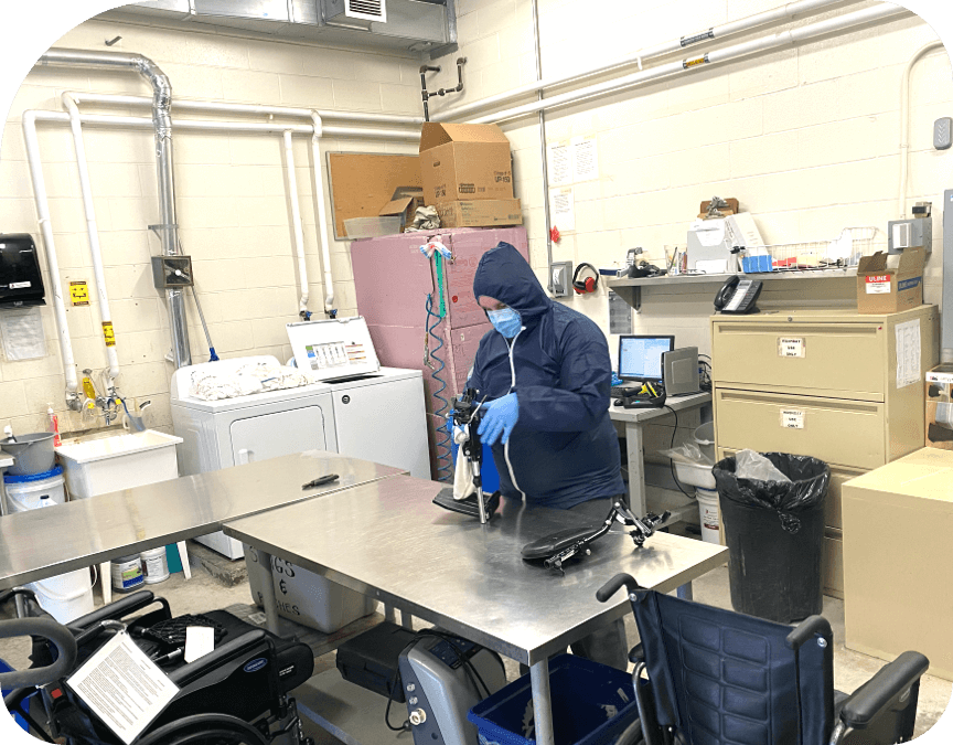 Medical equipment preventative maintenance and repair
