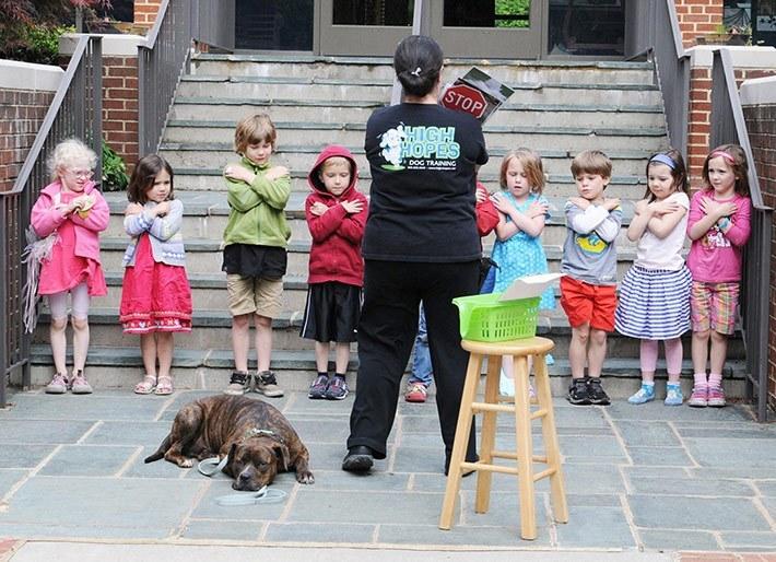 Sparty-at-preschool