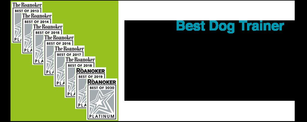 award for best dog trainer in Roanoke va