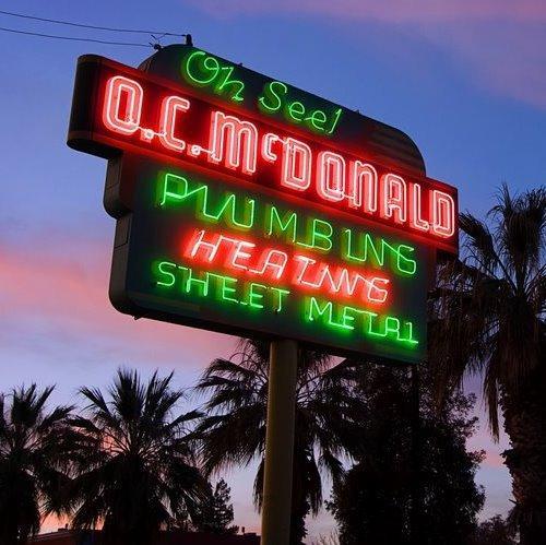 O.C. McDonald sign