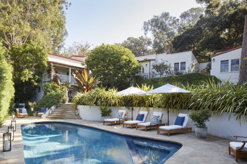 Santa Monica Canyon home featured in Luxe Magazine