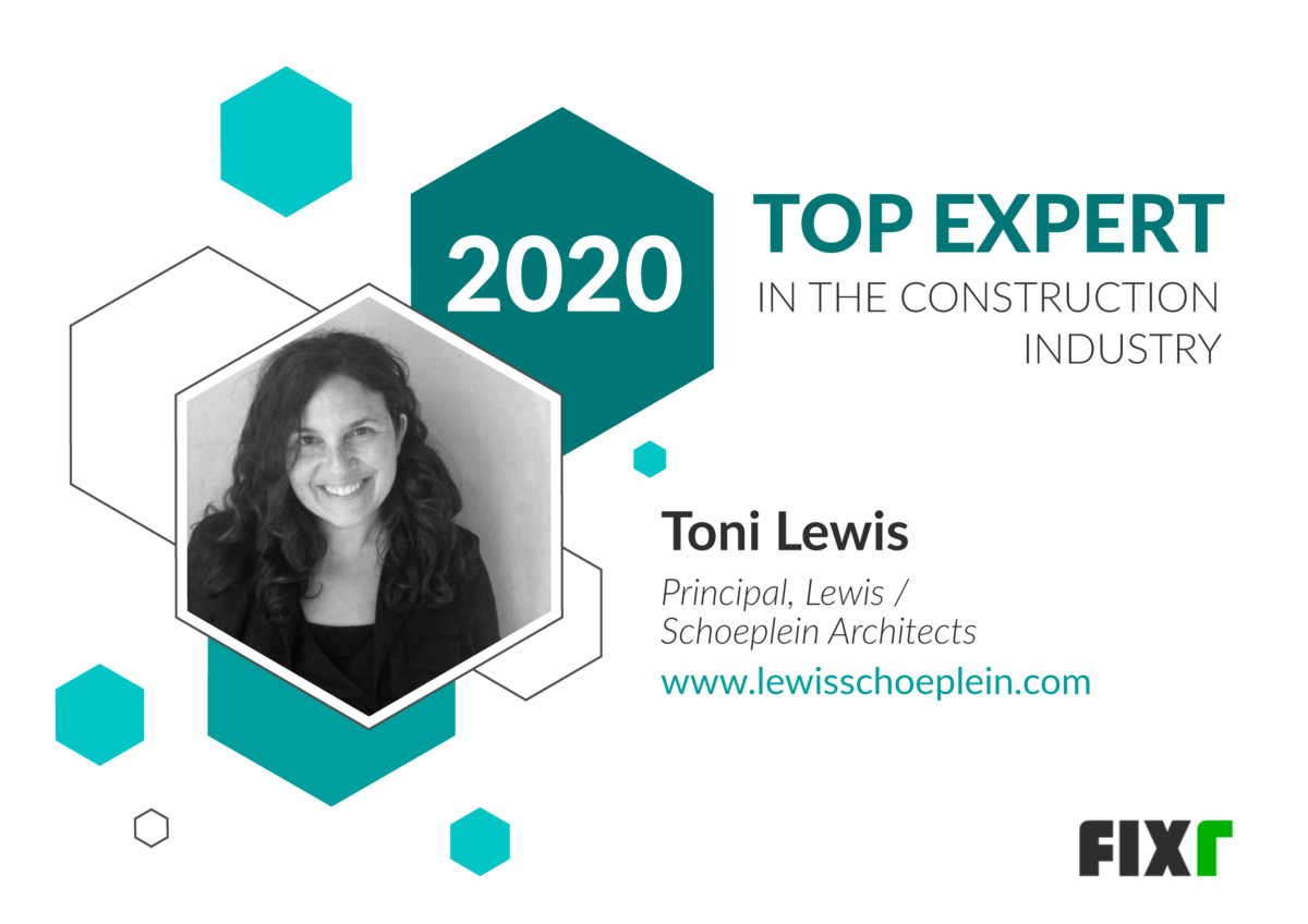 Principal Toni Lewis is one of Top Construction Industry Experts of 2020