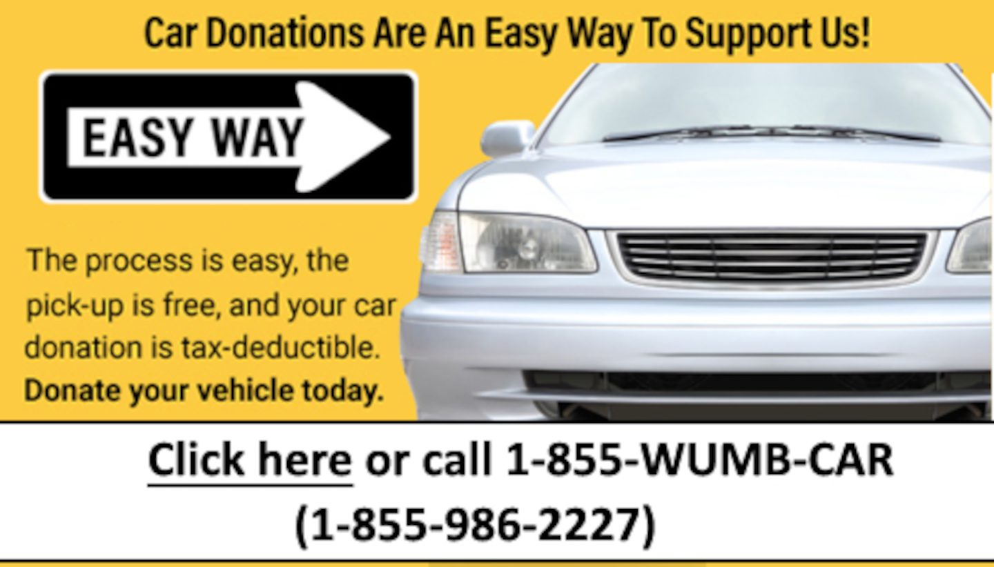 Ad to donate your car