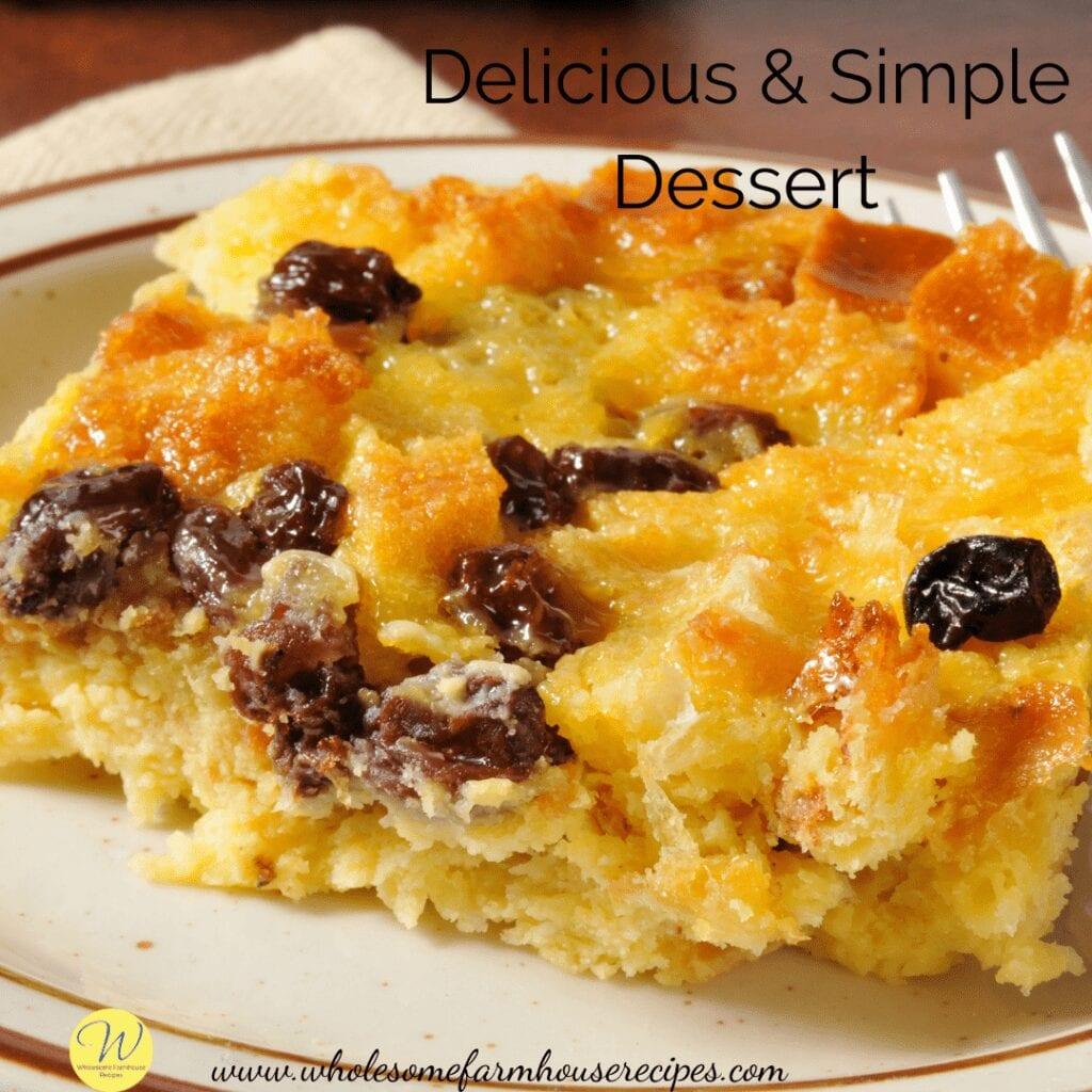 Delicious & Simple Dessert