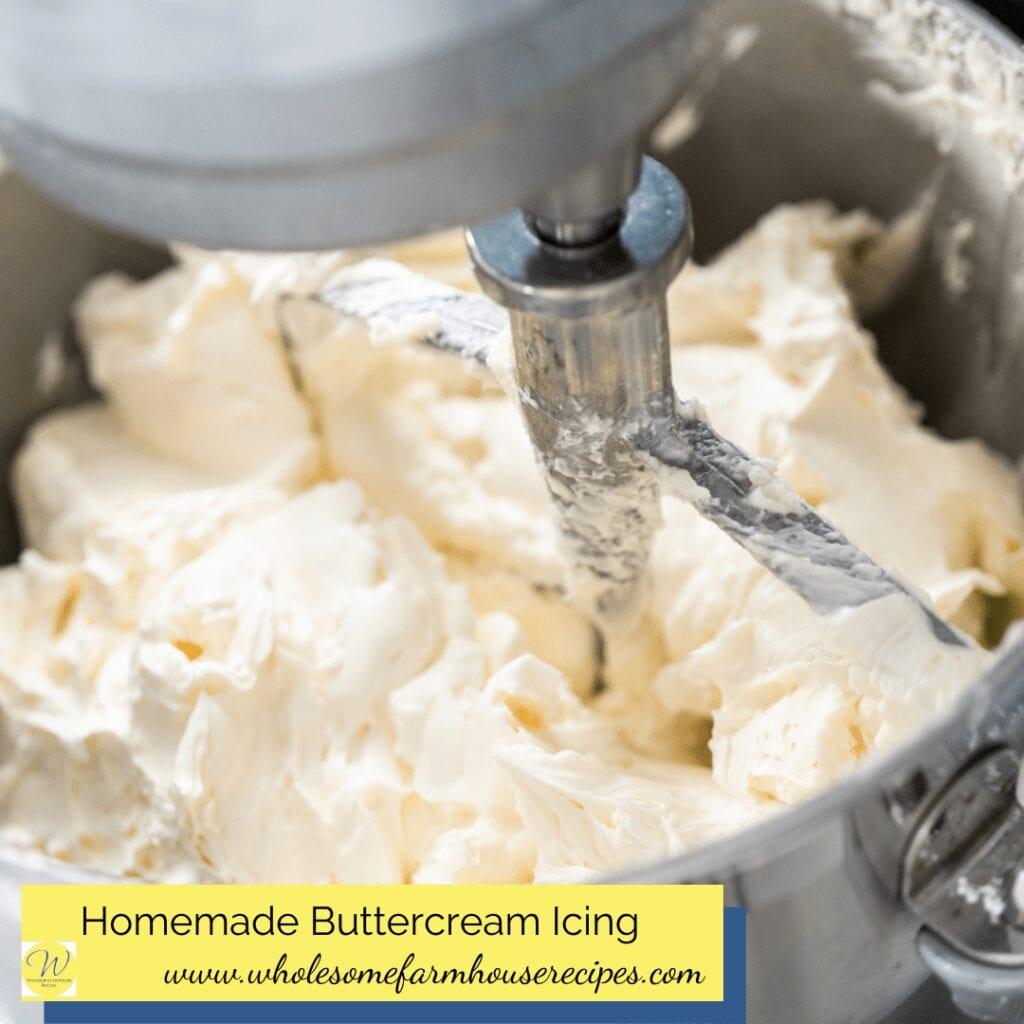 Homemade Buttercream Icing