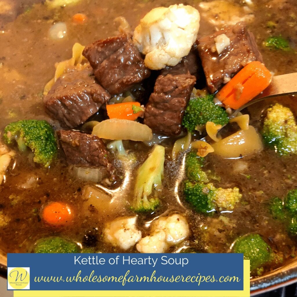 Kettle of Hearty Soup