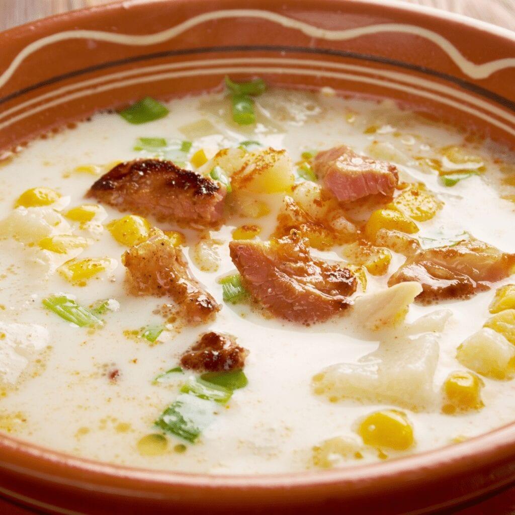 Rustic Corn Potato Chowder