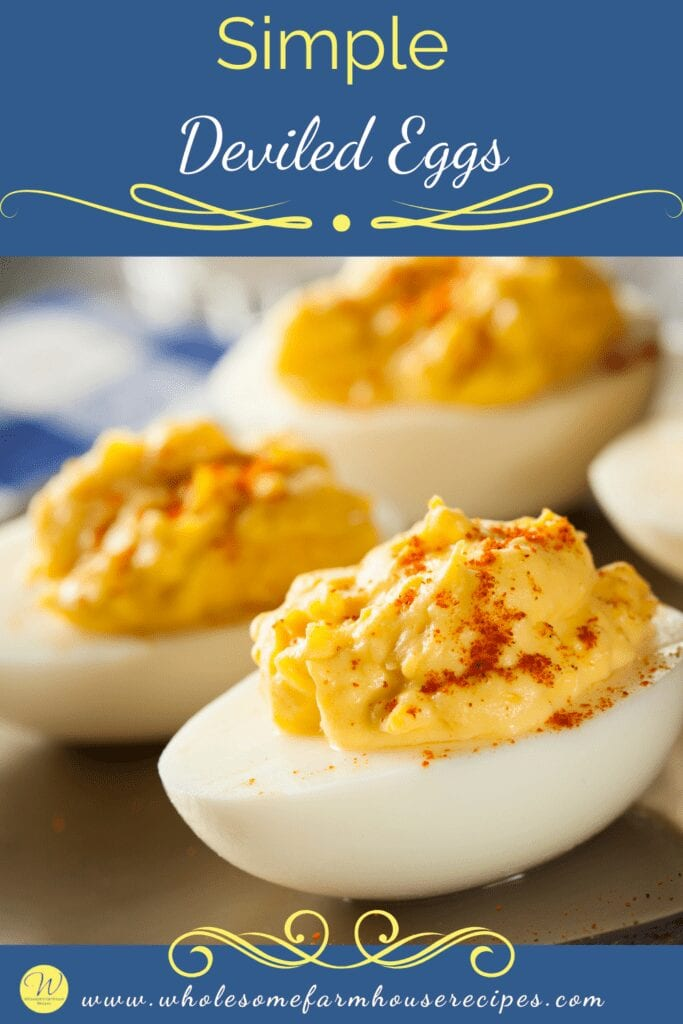 Simple Deviled Eggs