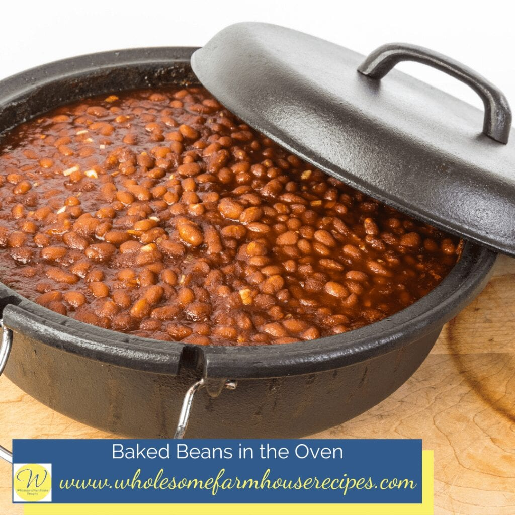 Baked Beans in the Oven
