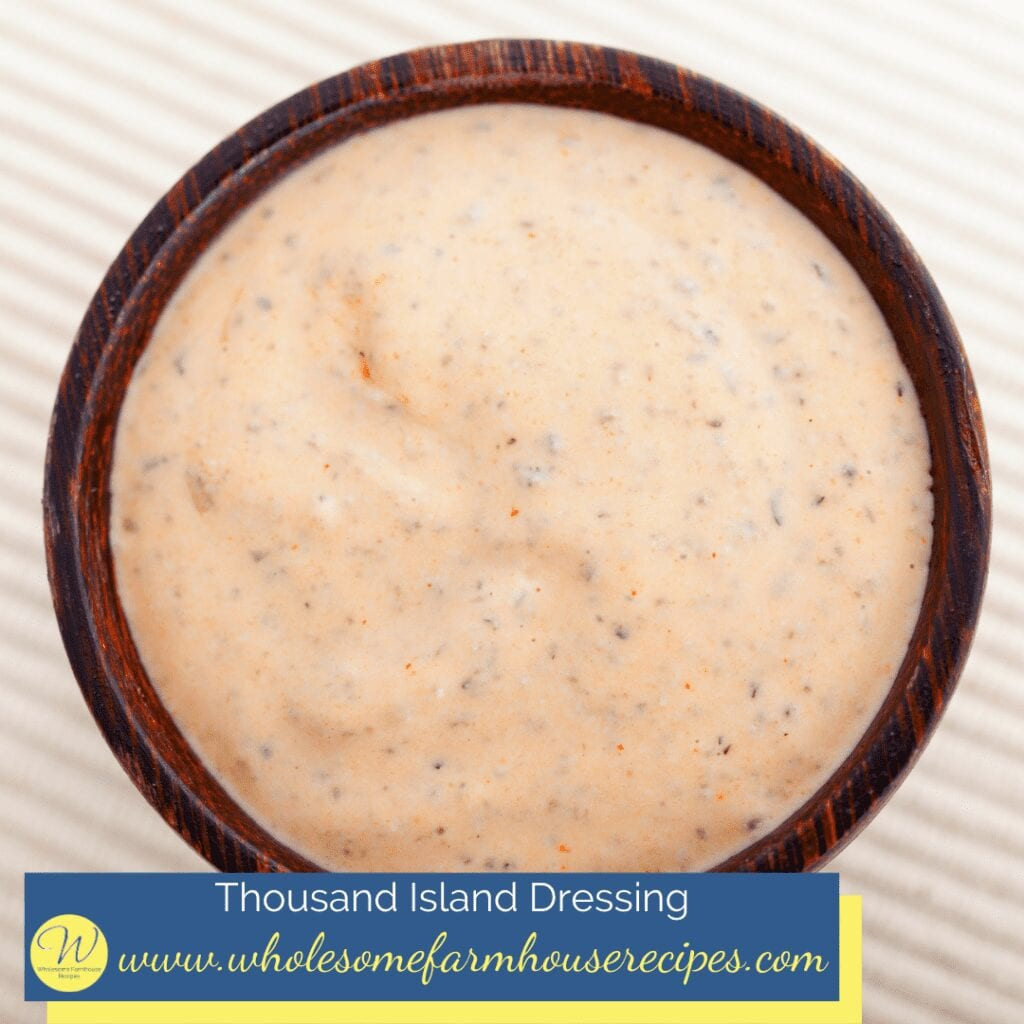 Thousand Island Dressing