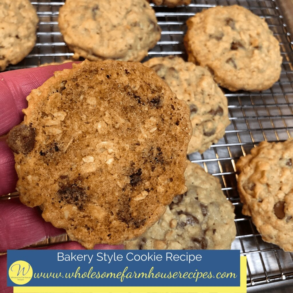 Bakery Style Cookie Recipe