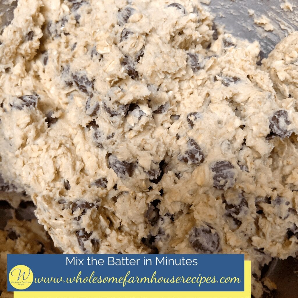 Mix the Batter in Minutes