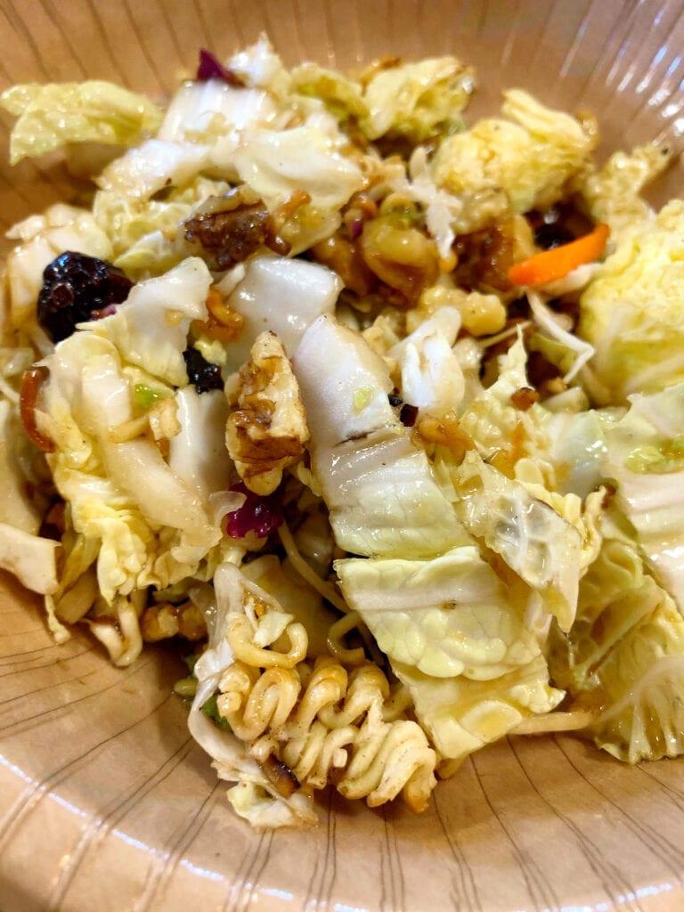 Oriental Napa Cabbage Salad Recipe