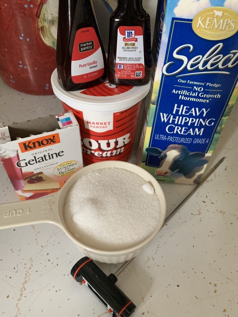 Simple Ingredients for a Make Ahead Dessert Recipe