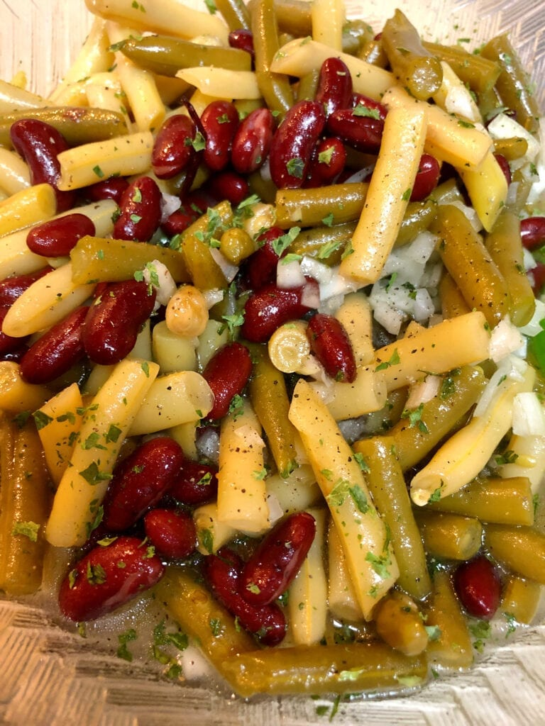 Green Beans and Kidney Beans Make Ahead Holiday Side dish