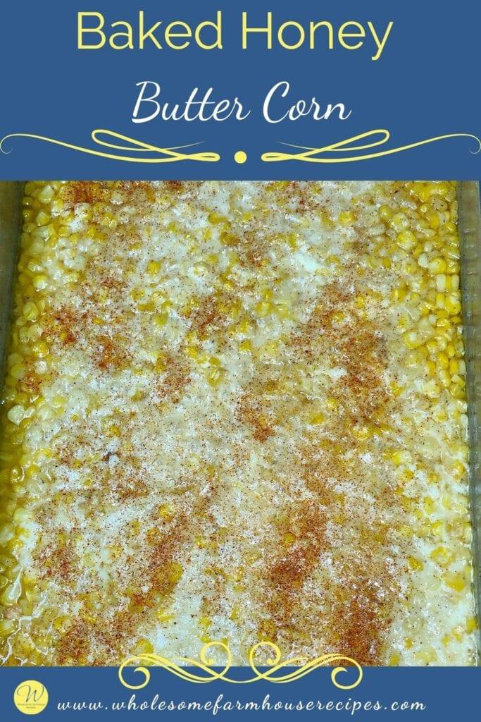 Baked Honey Butter Corn